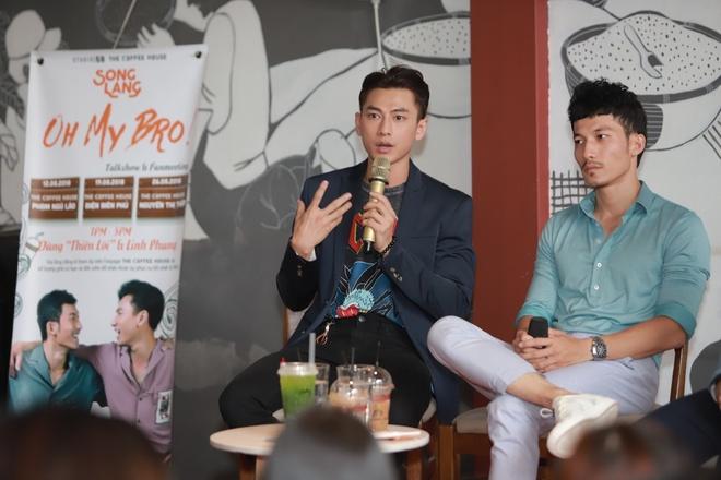 Isaac va Lien Binh Phat bat mi hau truong 'Song Lang' hinh anh 1