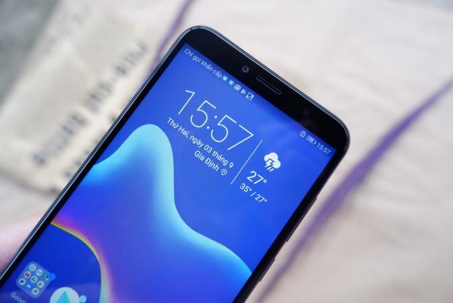 Huawei Y6 Prime: Thiet ke hien dai, hieu nang kha hinh anh