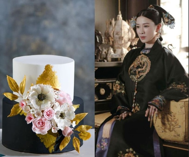 Fan tao banh sinh nhat bat trend tu phim 'Dien Hi cong luoc' hinh anh