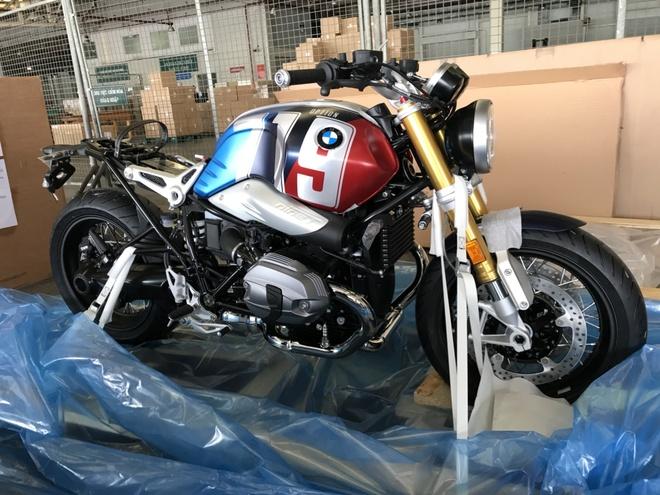 Phien ban dac biet BMW R nineT Spezial va K1600 Grand America den VN hinh anh