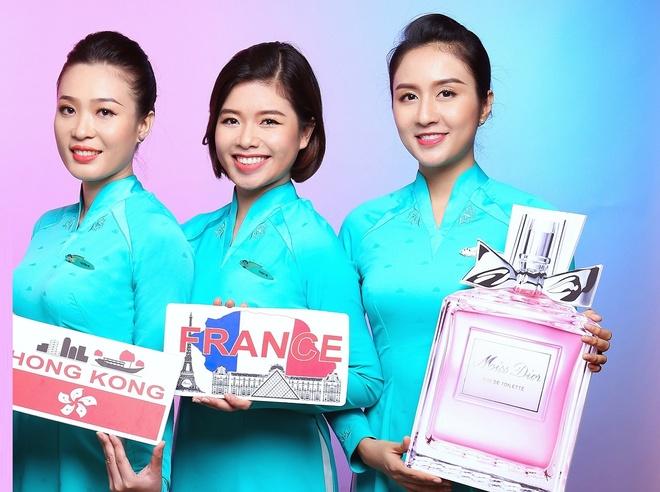 Vietnam Airlines se ban hang mien thue tren may bay hinh anh