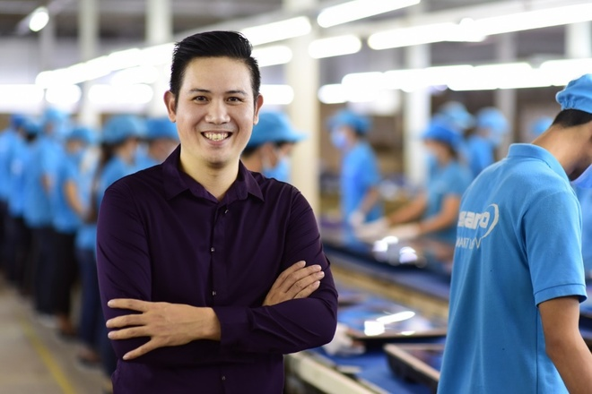 CEO Pham Van Tam: 'Thay doi nhan dien thuong hieu de vuon len dan dau' hinh anh
