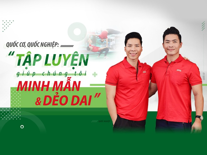 Quoc Co, Quoc Nghiep: 'Tap luyen giup chung toi minh man va deo dai' hinh anh