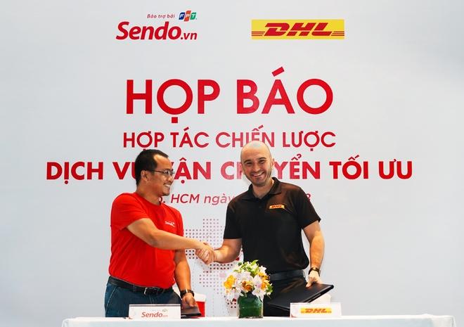 Sen Do chinh thuc hop tac voi hang van chuyen DHL hinh anh