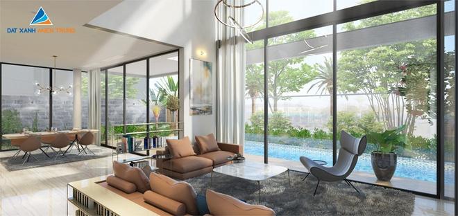 Không gian sống phong cách nghỉ dưỡng sang trọng tại One River villas