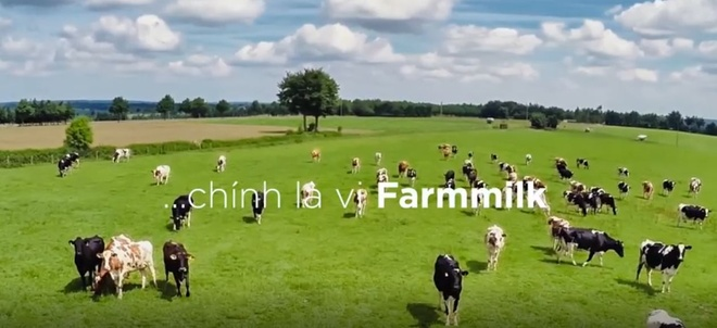Video - Sua thanh trung Farmmilk - Giu tron vi thanh khiet: hinh anh
