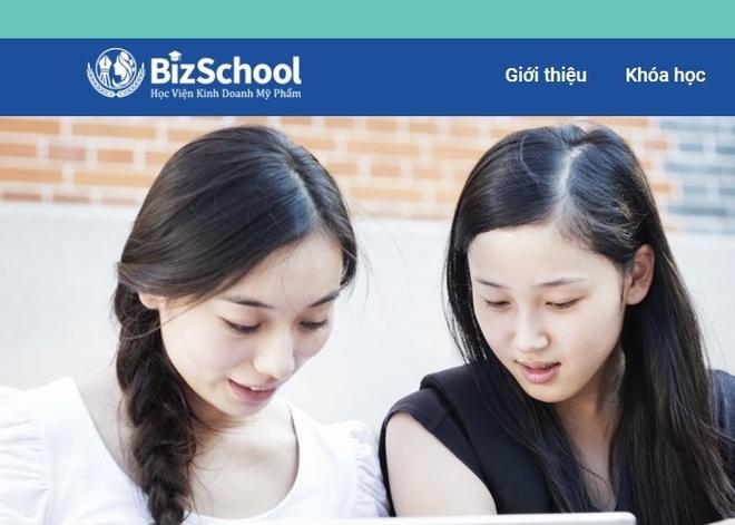 Korena ra mat website dao tao kinh doanh my pham BizSchool hinh anh