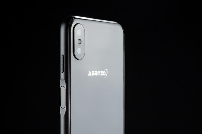 Smartphone moi cua Asanzo ro ri thiet ke truoc ngay ra mat hinh anh