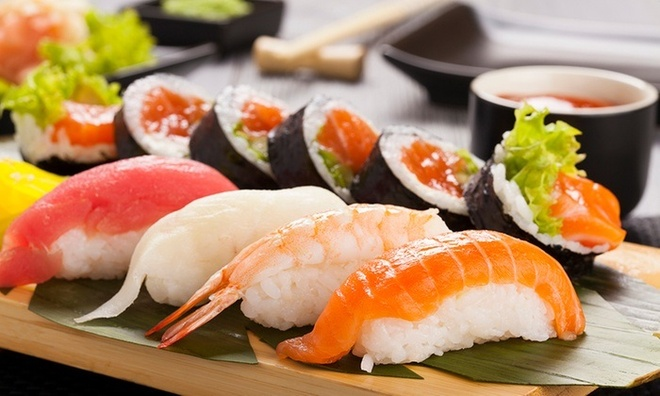 Sushi va sashimi - su tinh te cua am thuc Nhat Ban hinh anh 1
