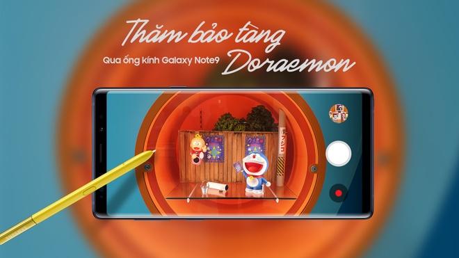 Tham bao tang Doraemon qua ong kinh Galaxy Note9 hinh anh
