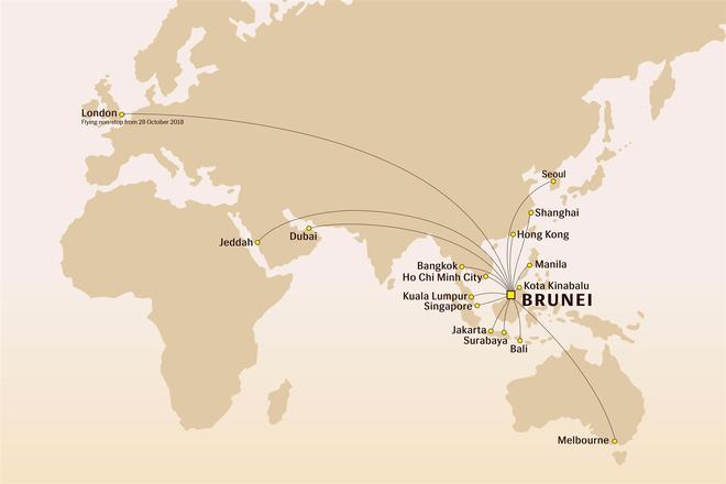 Royal Brunei mo duong bay thang tu Brunei toi London hinh anh 2