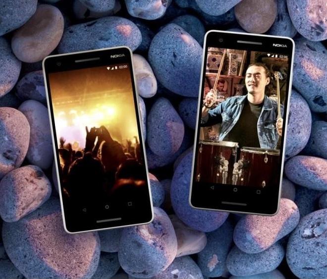 Nokia 2.1 - man hinh kinh cong, pin 4.000 mAh, gia binh dan hinh anh 5