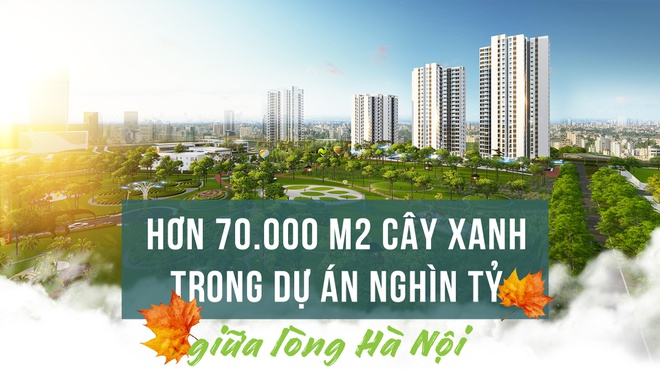Hon 70.000 m2 cay xanh trong du an nghin ty giua long Ha Noi hinh anh