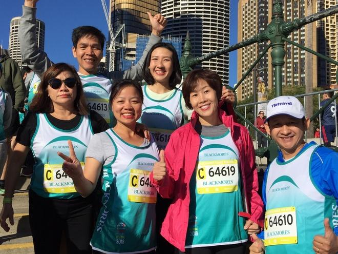 Giai viet da Sydney Running Festival lan toa phong trao song lanh manh hinh anh
