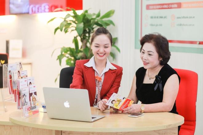 HDBank hoan tien 30% eBanking nhan ngay Phu nu Viet Nam hinh anh