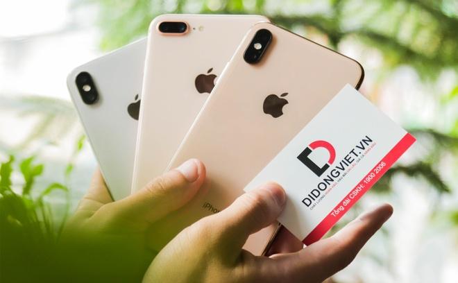 Nen chon iPhone 8 Plus, X hay XS Max lam qua 20/10? hinh anh