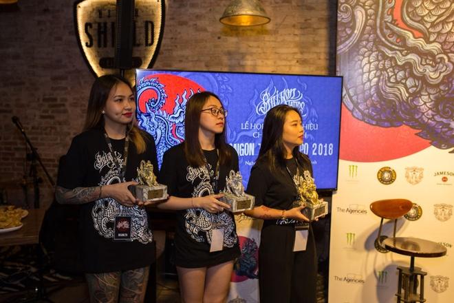 Saigon Tattoo Expo 2018 quy tu nhieu nghe nhan xam ten tuoi hinh anh 4