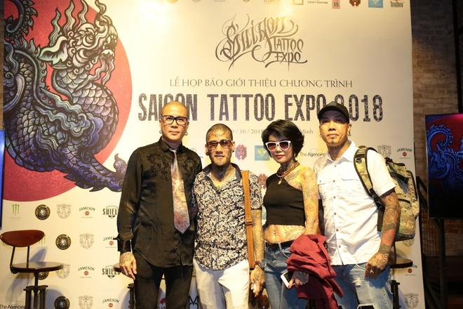Saigon Tattoo Expo 2018 quy tu nhieu nghe nhan xam ten tuoi hinh anh