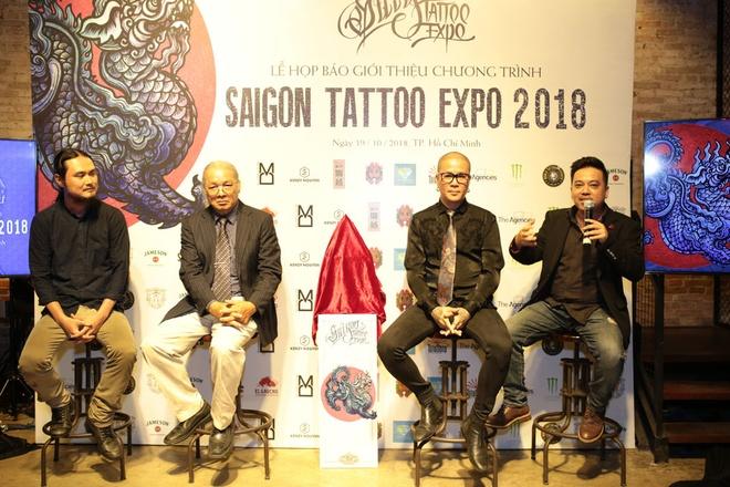 Saigon Tattoo Expo 2018 quy tu nhieu nghe nhan xam ten tuoi hinh anh 3