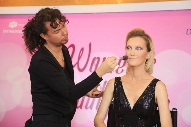 Chuyên gia trang điểm Tomas Vida dự hội thảo chăm sóc sắc đẹp