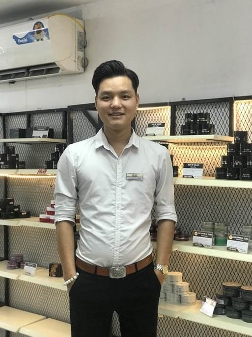 Founder Stylist4Men - dai hoc do dang, thanh cong voi nghe toc hinh anh 2