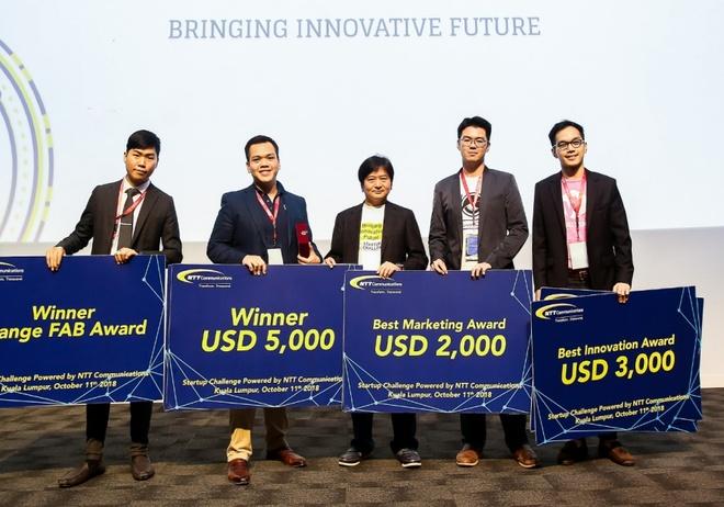 Tham gia dau truong startup quoc te, chinh phuc giai thuong 10.000 USD hinh anh