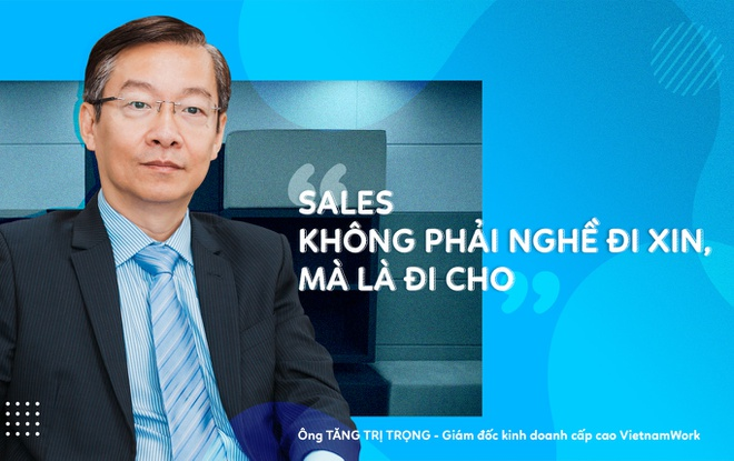 Giam doc KD VietnamWorks: 'Sales khong phai nghe di xin, ma la di cho' hinh anh