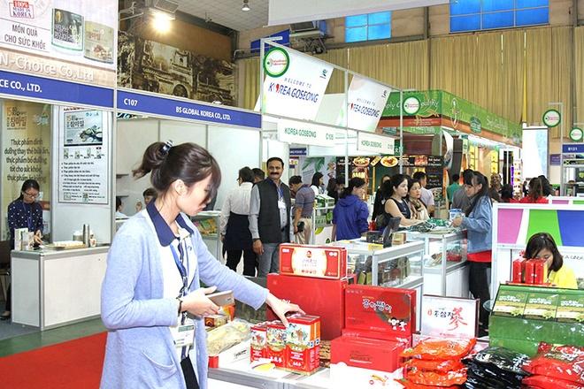 250 doanh nghiệp quy tụ tại triển lãm Vietfood & Beverage