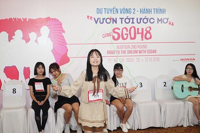 Vong 'Trinh dien' cua cuoc thi SGO48 dien ra soi dong hinh anh 5