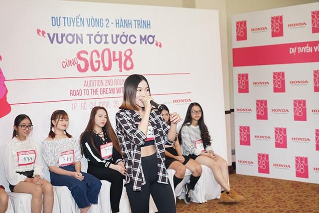 Vong 'Trinh dien' cua cuoc thi SGO48 dien ra soi dong hinh anh 8