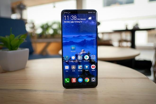 Huawei mang Mate 20 Pro ve VN, phan khuc cao cap them soi dong hinh anh