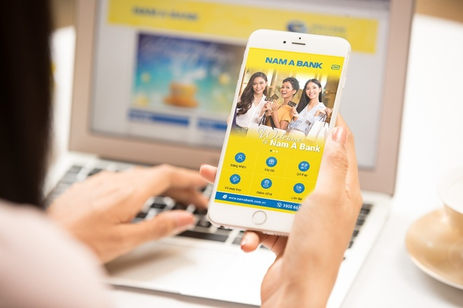 Nam A Bank ra mat phien ban mobile banking moi hinh anh