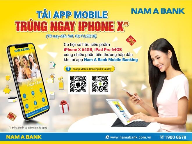 Nam A Bank ra mat phien ban mobile banking moi hinh anh 3