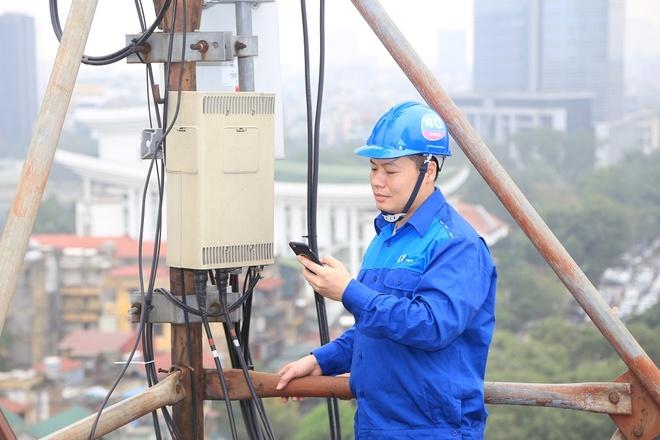 Chat luong mang 3G/4G cua VinaPhone vuot chuan Viet Nam hinh anh