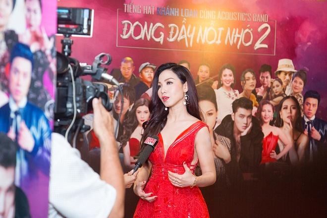 Khánh Loan biểu diễn ca khúc mới 'Just let me go' tại live concert