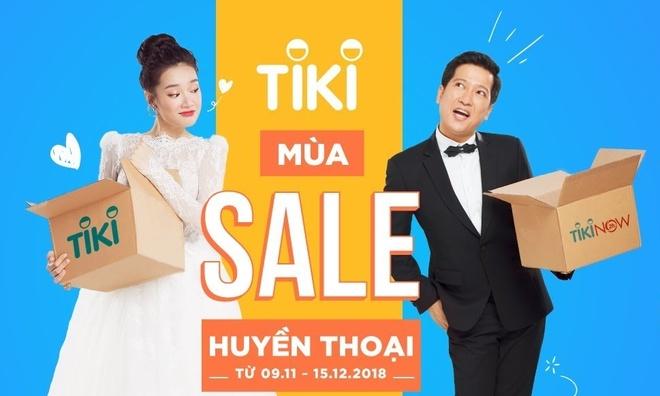 Tiki khuấy động đợt mua sắm cuối năm với 'Mùa sale huyền thoại 11/11'