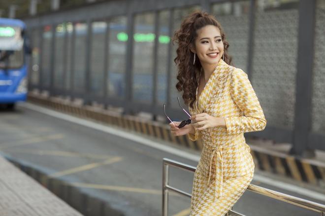 Ninh Hoang Ngan lan dau chia se hanh trinh tham gia The TV Face 2018 hinh anh 2