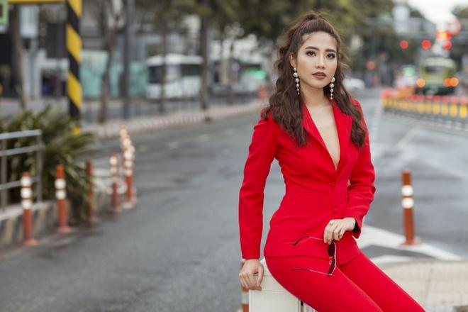 Ninh Hoang Ngan lan dau chia se hanh trinh tham gia The TV Face 2018 hinh anh 5