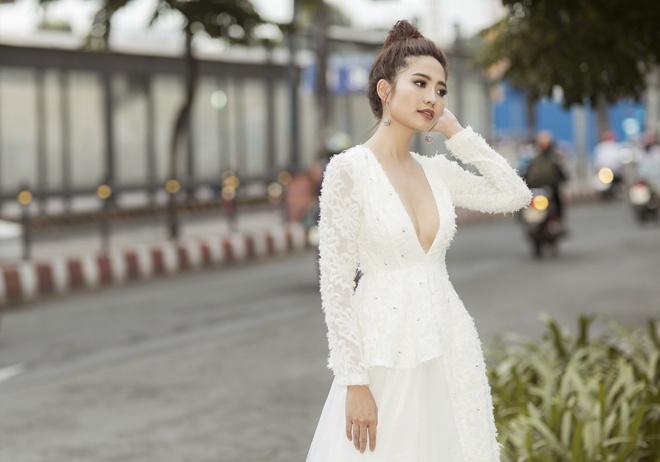 Ninh Hoang Ngan lan dau chia se hanh trinh tham gia The TV Face 2018 hinh anh