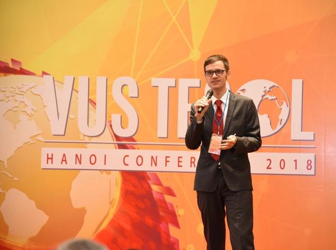 1.000 giáo viên tham gia hội nghị giảng dạy tiếng Anh chuẩn quốc tế