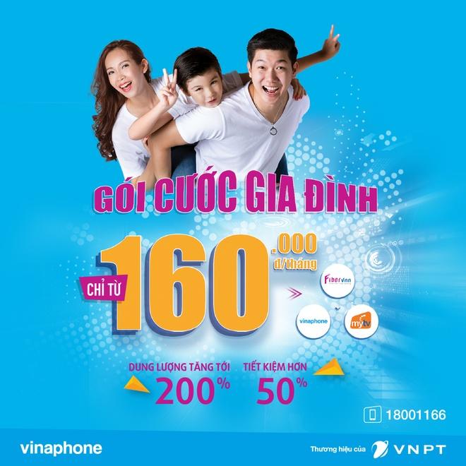 VNPT tang gap doi uu dai cho goi cuoc Gia dinh, chi tu 160.000 dong hinh anh 1