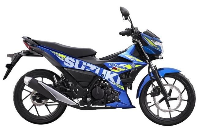 Suzuki Raider R150 Fi 'lot xac' voi bo ba mau moi hinh anh 3