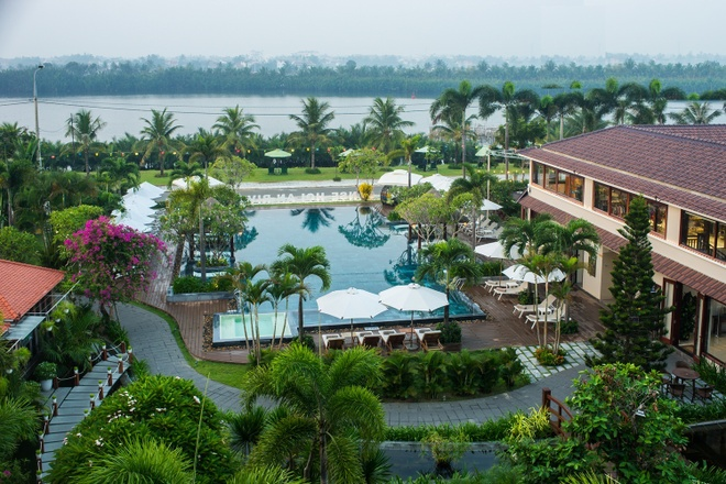 Resort Hoi An doat 2 giai tai World Luxury Hotel Awards 2018 hinh anh