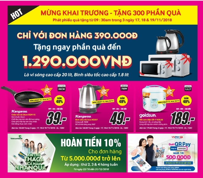 MediaMart tung nhieu uu dai dip khai truong tai Ha Noi, Thanh Hoa hinh anh 2