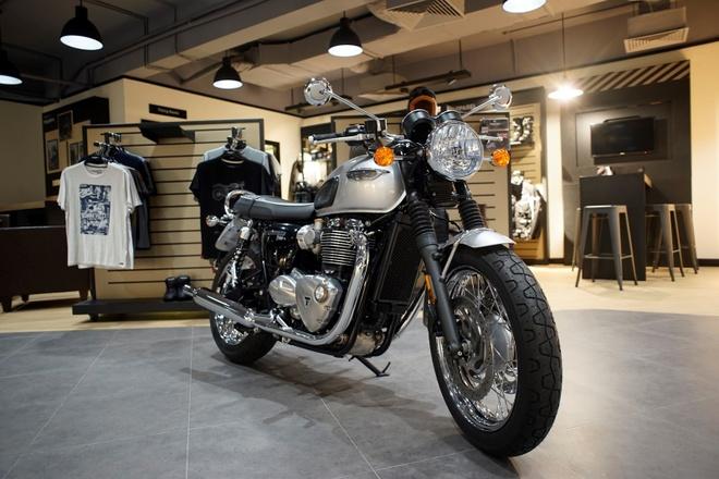 Triumph Motorcycles ra mat dai ly chinh hang tai Ha Noi hinh anh 4