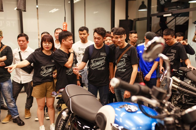Triumph Motorcycles ra mat dai ly chinh hang tai Ha Noi hinh anh 8