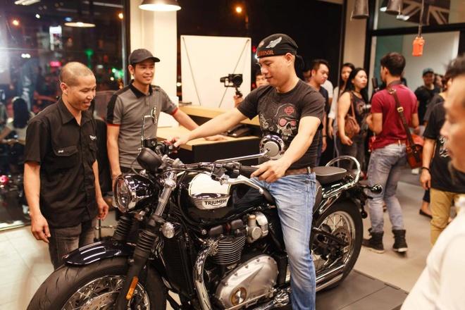 Triumph Motorcycles ra mat dai ly chinh hang tai Ha Noi hinh anh 10