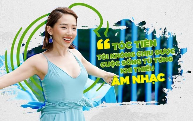 Toc Tien: 'Toi khong chiu duoc cuoc song tu tung khi thieu am nhac' hinh anh