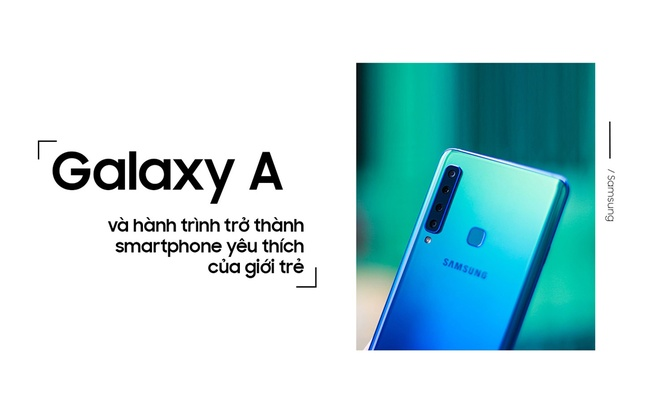Galaxy A va hanh trinh tro thanh smartphone yeu thich cua gioi tre hinh anh