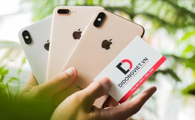 Di Dong Viet bao hanh mot doi mot, roi vo cho iPhone X, XS Max hinh anh 1